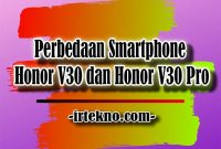 Honor V30 dan Honor V30 Pro