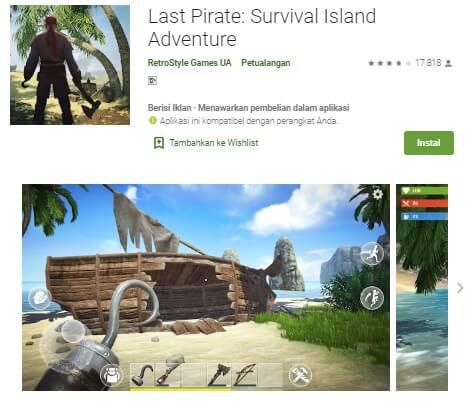 Last Pirate Survival Island Adventure Irtekno.com