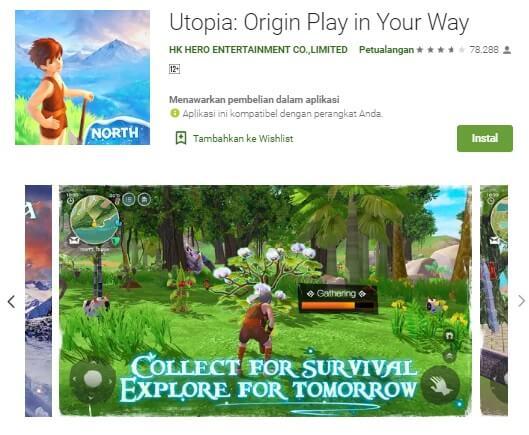 Utopia Origin Irtekno.com