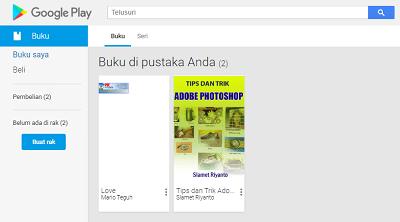 Cara Download Buku di Google Books
