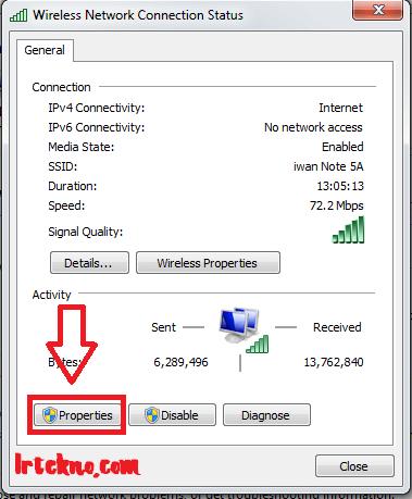 cara mempercepat koneksi wifi di PC