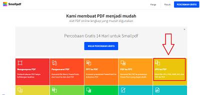 Ubah foto ke pdf