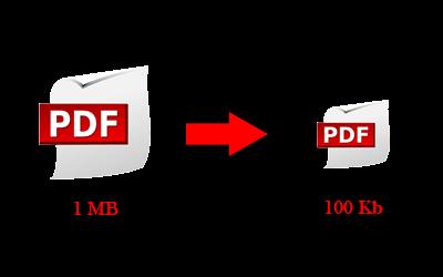 cara mengecilkan ukuran PDF
