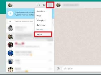 cara menggunakan whatsapp di laptop tanpa hp