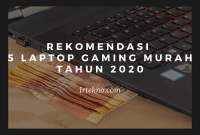 laptop gaming murah 2020