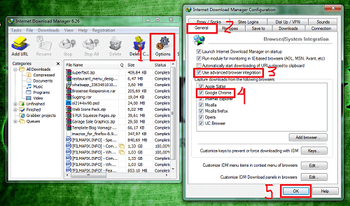 Cara Memunculkan IDM di Chrome