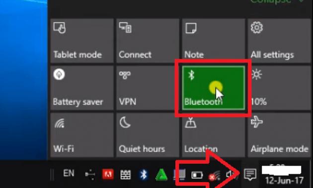 Cara Mengaktifkan Bluetooth di Laptop
