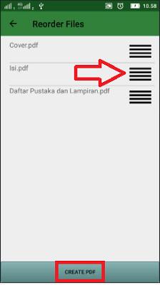 Cara gabung File PDF di Android
