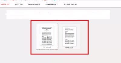 Cara gabung File PDF Online