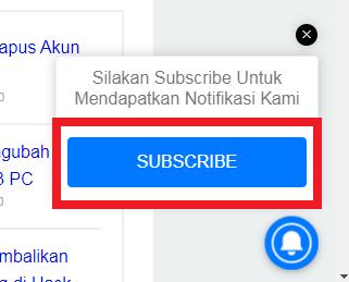 aktifkan notifikasi