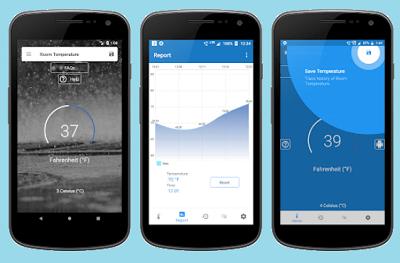 aplikasi pengukur suhu ruangan iphone