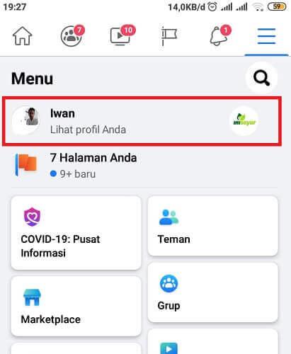Cara melihat daftar teman di fb