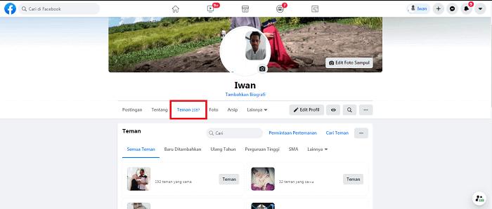 cara melihat pengikut di facebook
