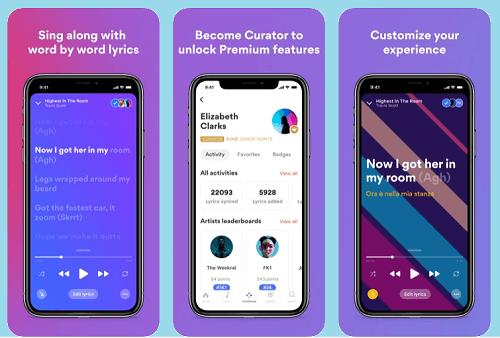 aplikasi musik yang ada liriknya offline