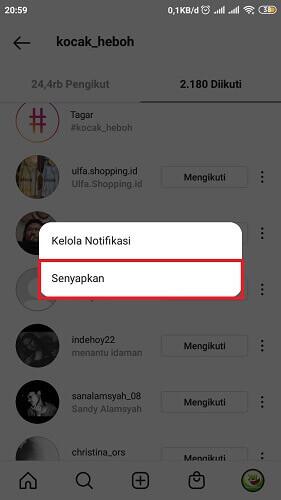cara menghilangkan konten negatif di instagram