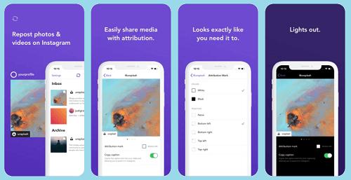 aplikasi repost instagram terbaik iphone