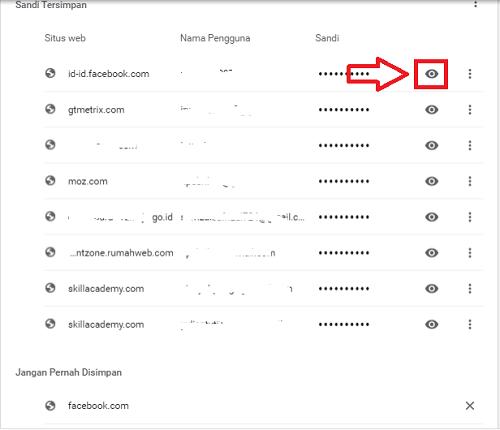 cara melihat sandi gmail kita