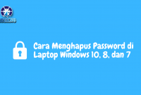 cara menghapus password di laptop