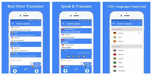 Bicara & terjemahkan penerjemah suara, penerjemah