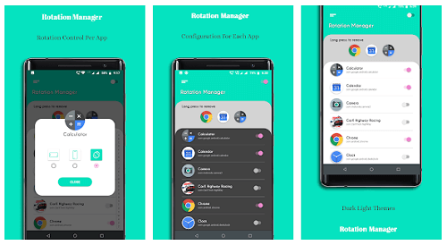 Rotation Manager - Screen Orientation Manager