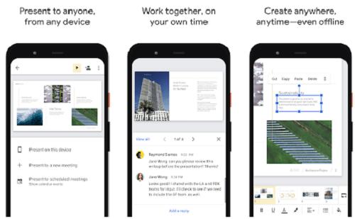 aplikasi presentasi android