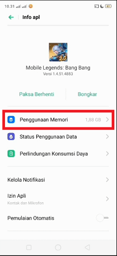 cara membuat akun baru mobile legend tanpa menghapus data