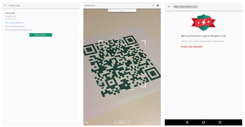 scan qr code google
