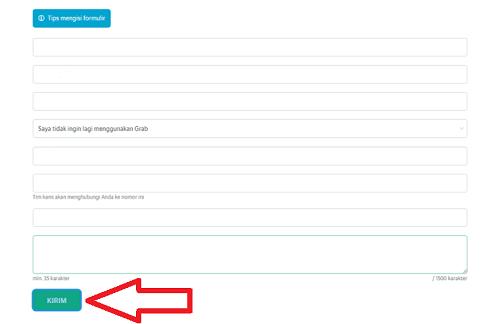 cara menghapus akun grab yang sudah terdaftar