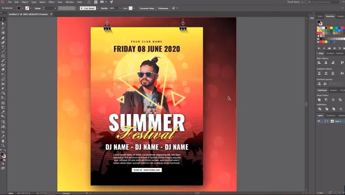 Aplikasi Untuk membuat poster Berbayar