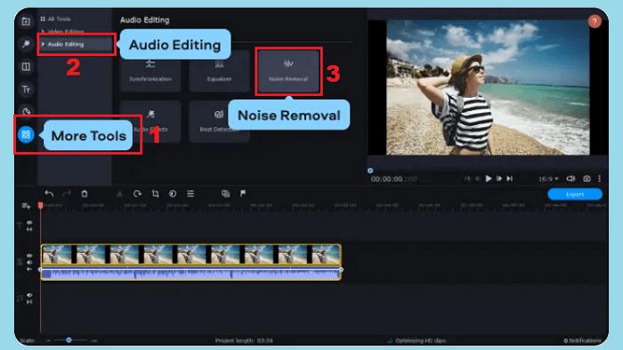 cara menghilangkan noise pada video di android
