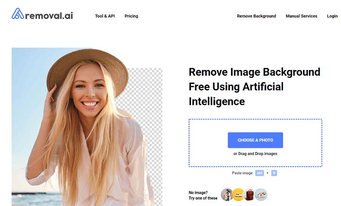 web edit background foto online